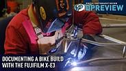 Documenting a bike build with the Fujifilm X-E3