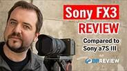 索尼FX3评论(+索尼A7S III的比较)GydF4y2Ba