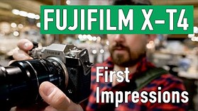Fujifilm X-T4 First Impressions