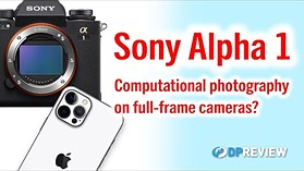 Could the Sony a1's fast sensor bring us better picture quality as well as speed?