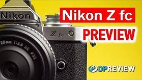 Nikon Z fc Hands-On Preview