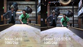 Video quality compared: Canon EOS 5DS R vs Nikon D810
