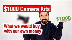 Best Camera Kit Under $1000 - Our picks!